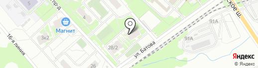 ТЕХНИК-ЭЛЕКТРИК на карте Ярославля