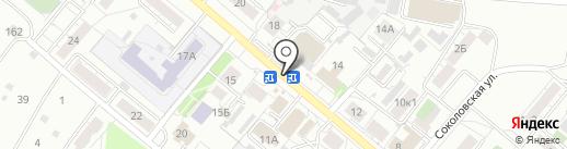 Сластена на карте Рязани