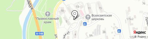 Федерация борьбы дзюдо и самбо г. Сочи на карте Сочи