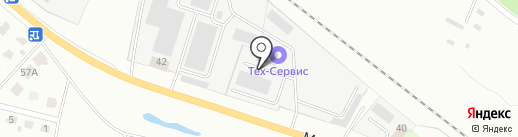 Мегаполис на карте Ярославля