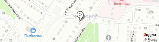 Союз на карте Липецка