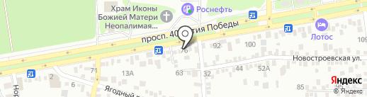 Все для рыбалки на карте Ростова-на-Дону