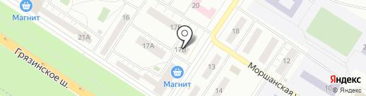 ФаунТаун на карте Липецка