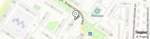Точка на карте Липецка