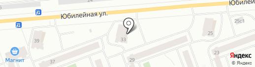 Ю33 на карте Северодвинска
