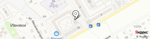 Северный банк Сбербанка России на карте Ивняков