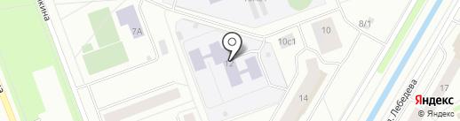 Детский сад №89, Умка на карте Северодвинска