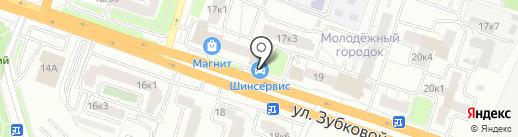 Шинсервис на карте Рязани