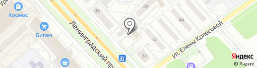 Дез Сервис на карте Ярославля