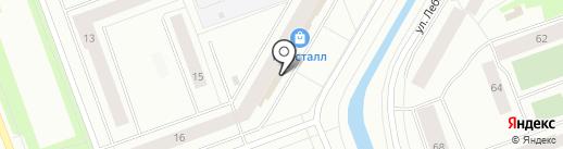 Ассорти на карте Северодвинска