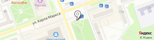МТС на карте Северодвинска
