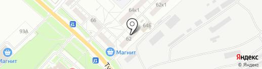 Ярбуксир на карте Ярославля