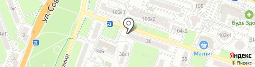 Транспортная компания на карте Рязани