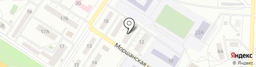 Жемчуг на карте Липецка