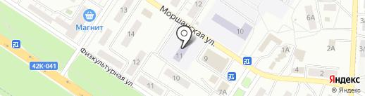 Детский сад №5 на карте Липецка