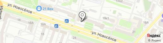 Суши-Сити на карте Рязани