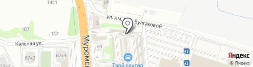 Автомагазин на карте Рязани