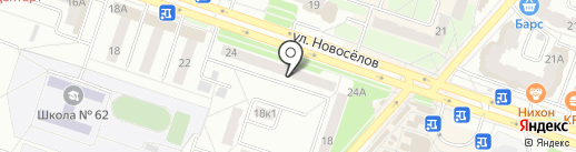 Ушаночка на карте Рязани