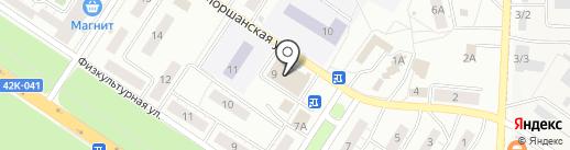 Магазин косметики и парфюмерии на Моршанской на карте Липецка