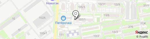 Аромат чистоты на карте Ростова-на-Дону