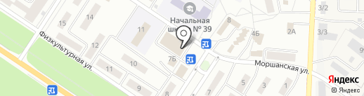 Актуэль на карте Липецка