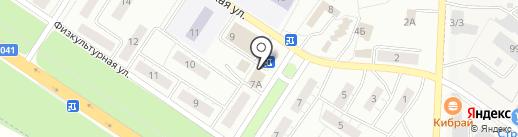 Садко на карте Липецка