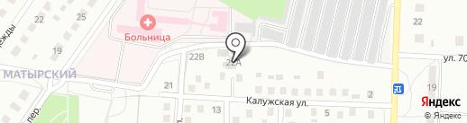 Баня & Дом на карте Липецка