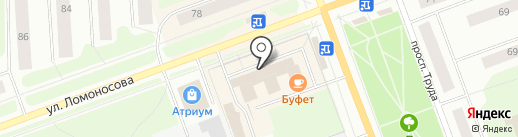 Аквариум на карте Северодвинска