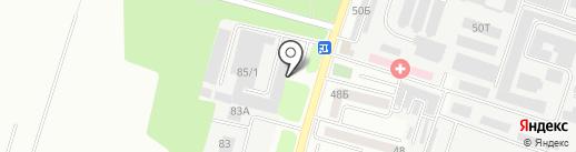 Агруп на карте Ростова-на-Дону