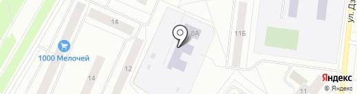 Средняя общеобразовательная школа №24 с дошкольным отделением на карте Северодвинска