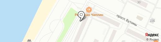 Почтовое отделение №24 на карте Северодвинска