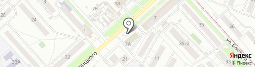 Грация на карте Ярославля