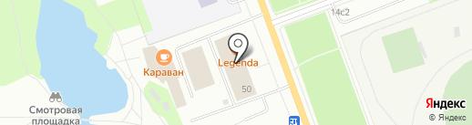 Магазин автозапчастей для ВАЗ на карте Северодвинска