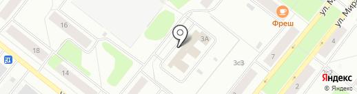 Служба доставки пиццы и суши на карте Северодвинска
