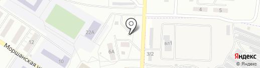 АНИ на карте Липецка