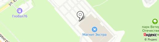 Вкусное Место на карте Ярославля