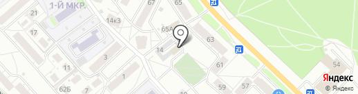 РЭУ №11, МУП на карте Ярославля
