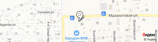 Алтай на карте Камышевахи