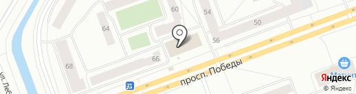 Отделение по делам несовершеннолетних на карте Северодвинска