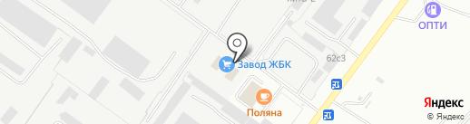 Ольво-99 на карте Ярославля