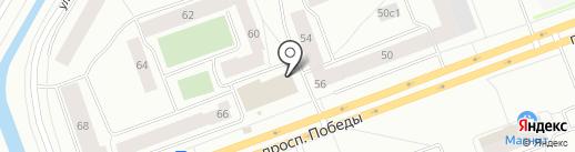 Бухарест на карте Северодвинска