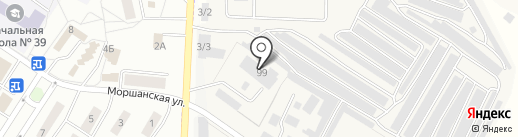Магазин тротуарной плитки на карте Липецка