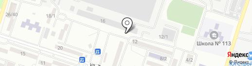 Дизайн Ростов на карте Ростова-на-Дону