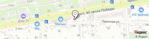 Фрегат на карте Ростова-на-Дону