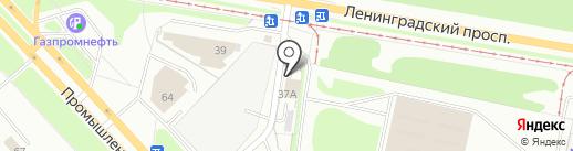 Поехали! на карте Ярославля