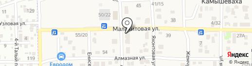 THE СНИМОК на карте Камышевахи