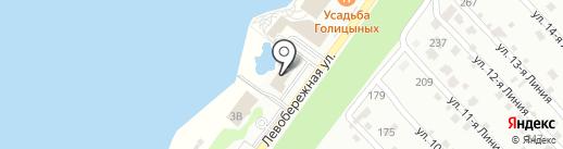 Донская Станица на карте Аксая