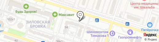 Тотальная дезинсекция на карте Рязани