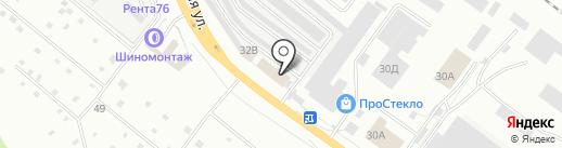 Автодоктор 76 на карте Ярославля