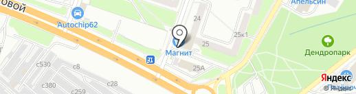 Салон-парикмахерская на карте Рязани